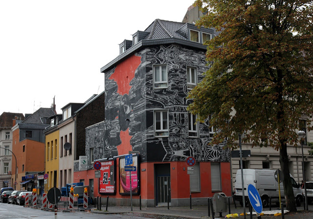 Street Art By German Artist M-City In Cologne, Germany For CityLeaks. 5