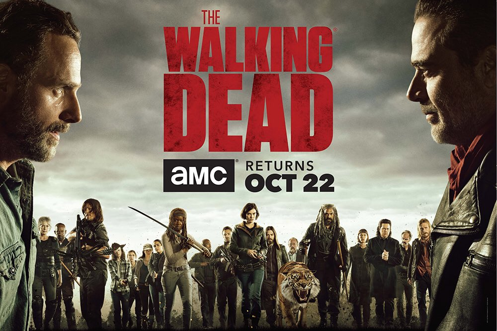 The Walking Dead | Pode anotar na agenda quando estreia a 8ª temporada