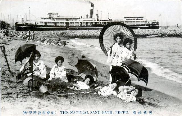 Лечение песчаными ваннами практикуют в Ибусуки уже более трех столетий.