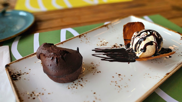 Chocolate Fondant, Backyard Restaurant, Salmiya, Kuwait