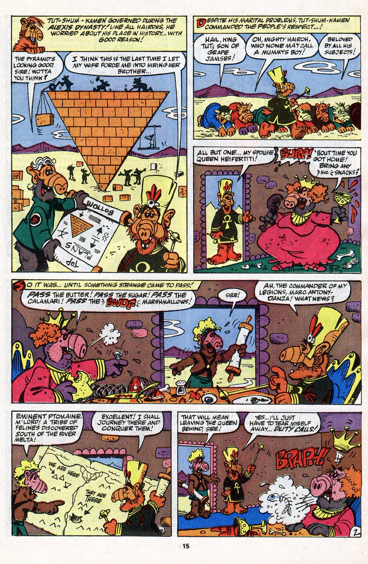 Read online ALF comic -  Issue #31 - 12