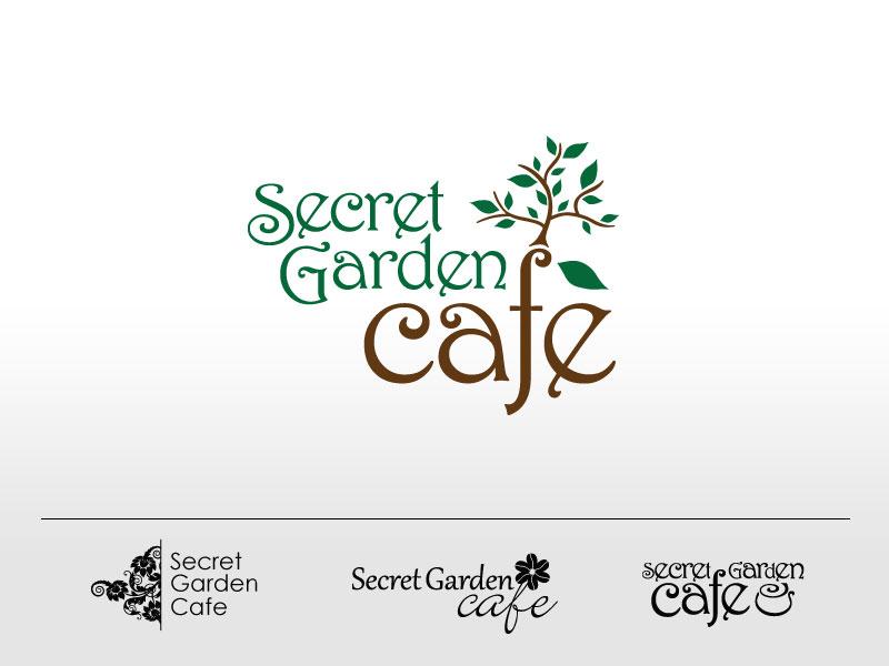 Tillie Design Design Freelancer Secret Garden Cafe Branding