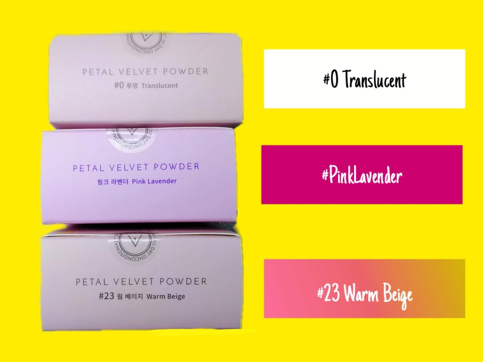 Petal Velvet Powder