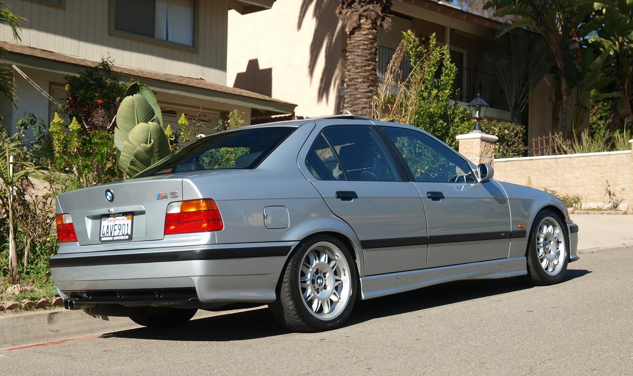 Daily Turismo: 5k: 1998 BMW E36 M3 Sedan; Clean, One-Owner