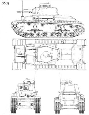 Легкий танк Pz. Kpfw 35 (t)