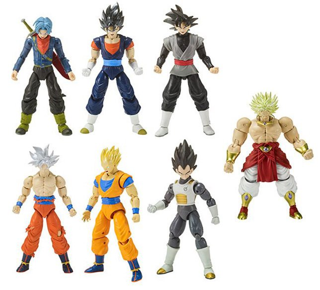 Figuras Deluxe Dragon Ball Super #sorteodragonstars.