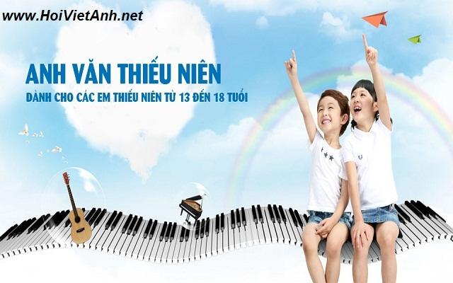 Khóa học ANH VĂN THIẾU NIÊN tại Hội Việt Anh VES