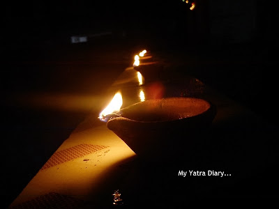 Happy Diwali - Earthen Diya