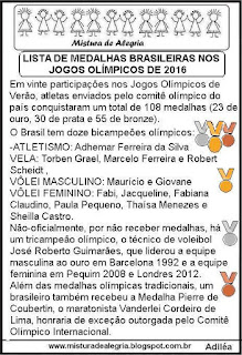 Medalhas olímpicas nos jogos olímpicos