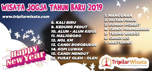 Paket Wisata di Jogja 3 hari 2 malam Edisi Tahun Baru 2019  - wisata ke Yogyakarta