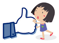 like button, thumbs up cartoon
