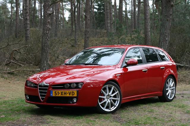 Alfa Romeo 159 Sportwagon Ti