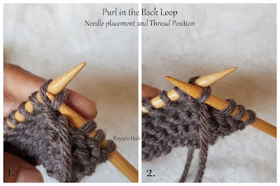 PURL IN THE BACK LOOP