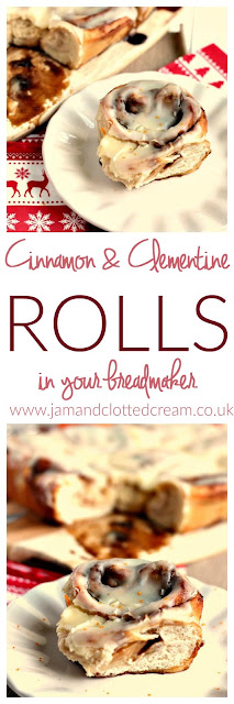 Cinnamon and Clementine Rolls