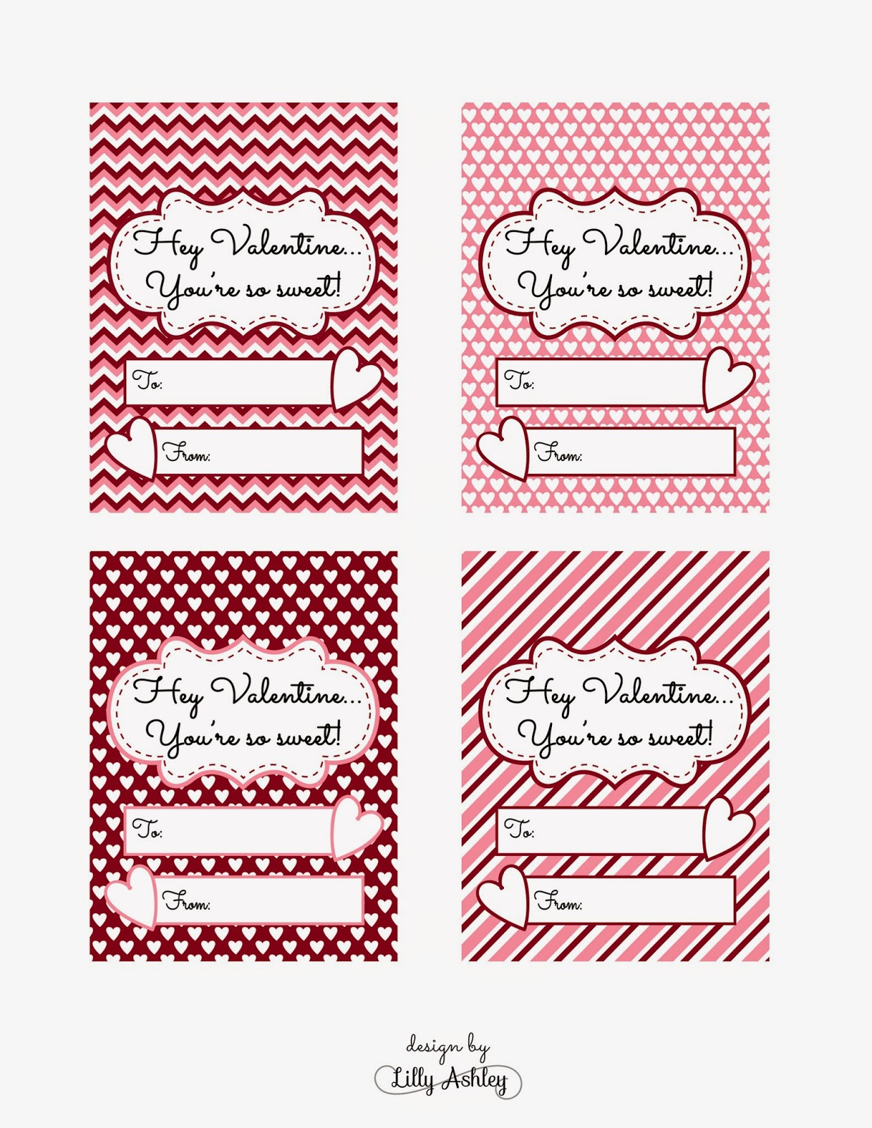 Valentine Cards Preschool Kindergarten