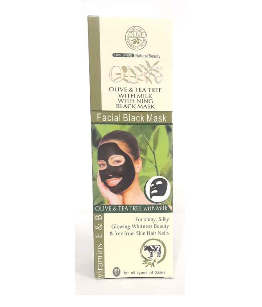 Olive Facial Black Mask 120 g