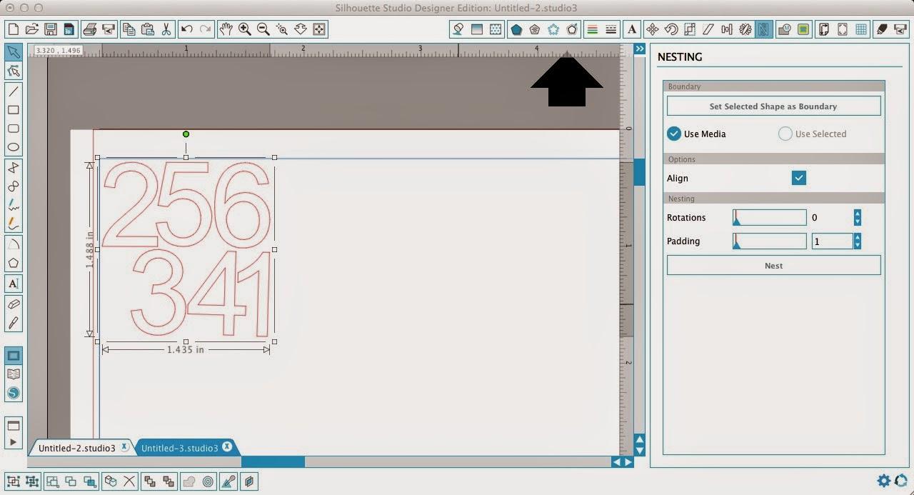 Nesting tool, Silhouette Studio, pro, Silhouette tutorial, groups