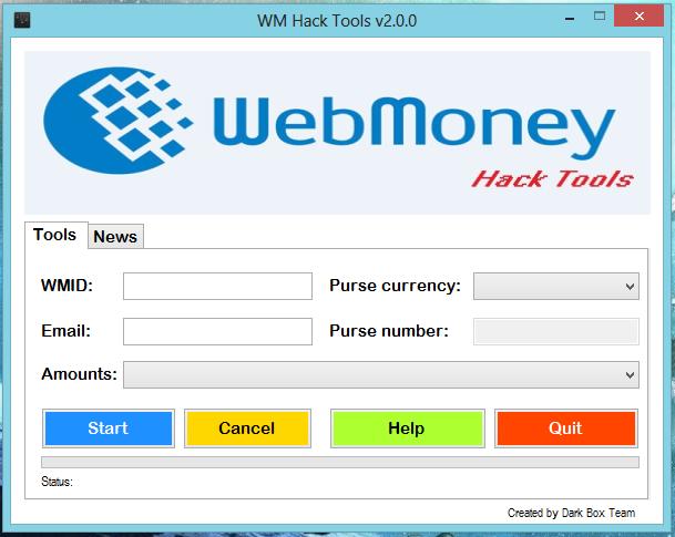 The World Trick News: WebMoney (WMZ) Money Adder