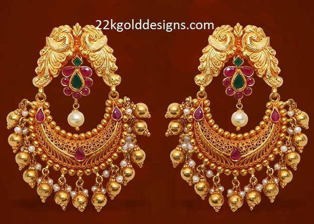 GRT Gold Chandbalis