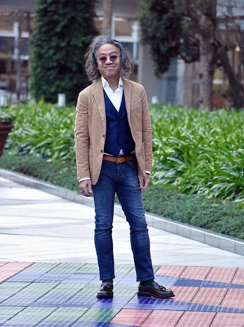 テーラードジャケットとジレのスタイル