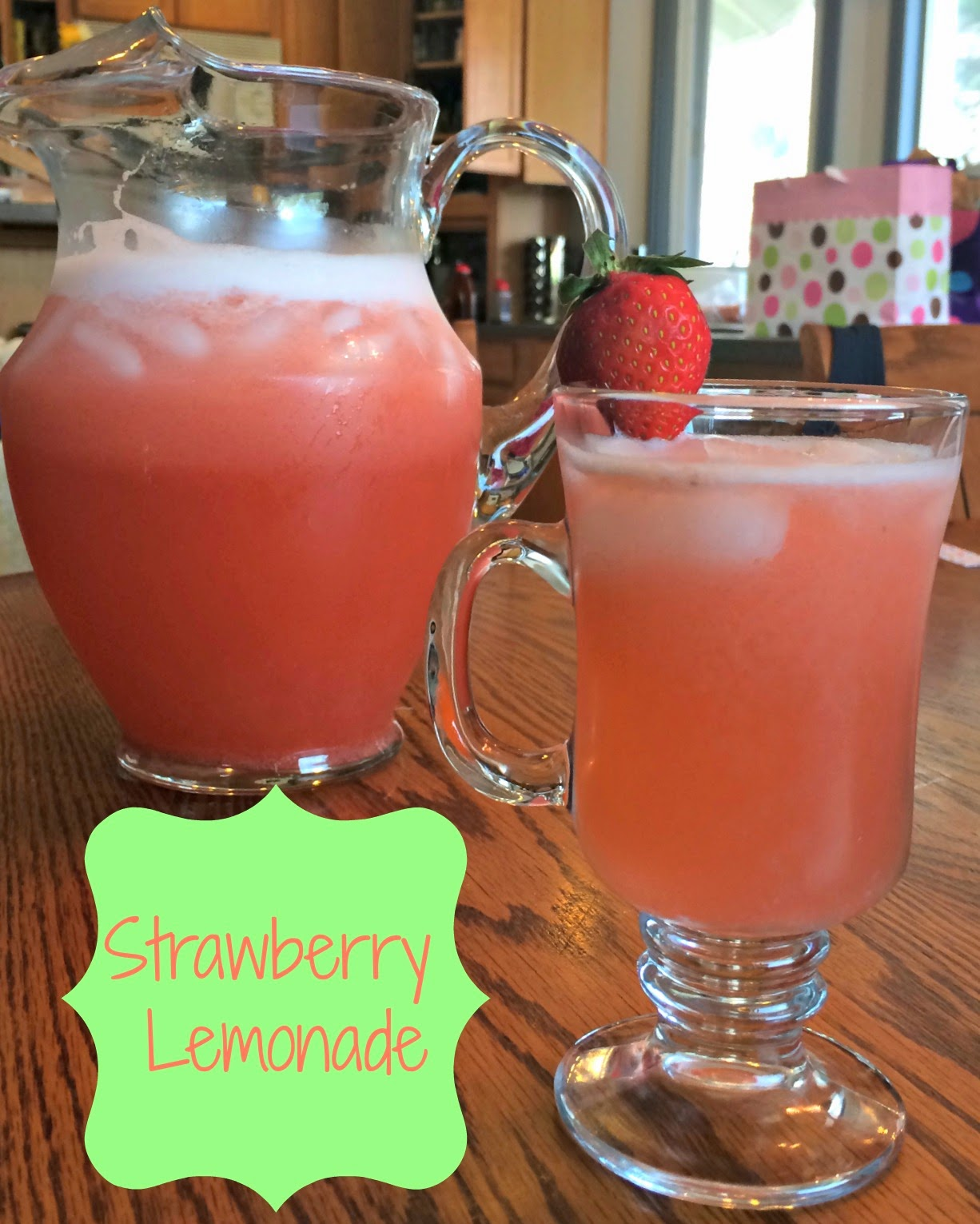 Adventures of D and V ~ Strawberry Lemonade