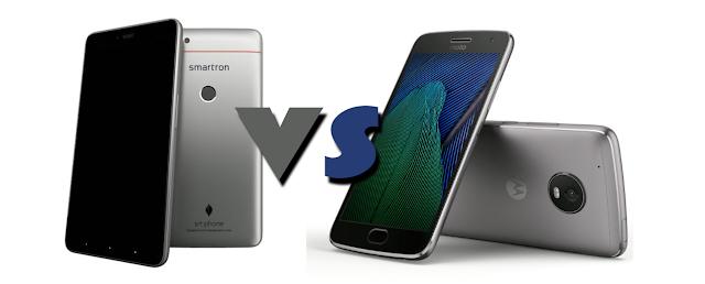 Smartron Srt.Phone VS Motorola Moto G5 Plus