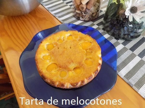 Tarta de melocotones