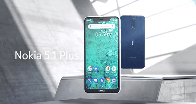 Nokia X5 launched as Nokia 5.1 Plus for the rest of the world