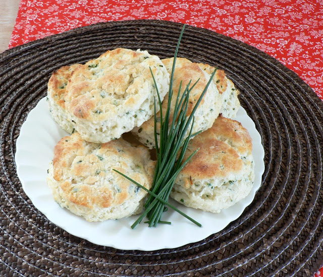 Chive Biscuit recipe