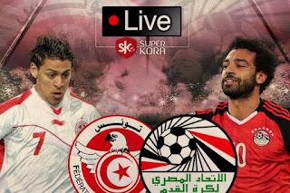 مشاهدة مباراة مصر وتونس بث مباشر اليوم 16-11-2018 تصفيات امم افريقيا
