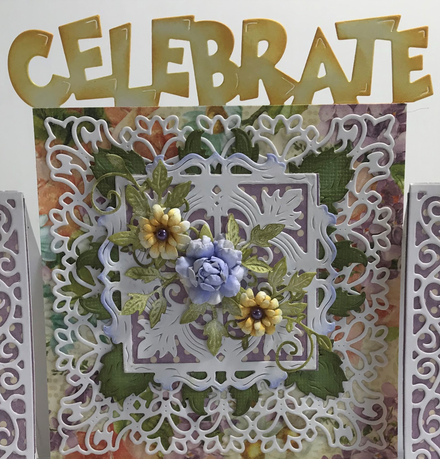 Celebrate With Roses Card Cheery Lynn Designs Inspiration Blog
