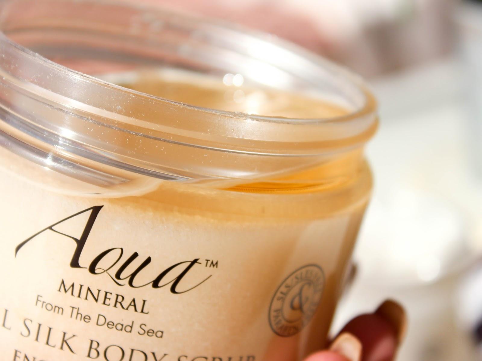 aqua mineral olejový peeling na tělo recenze