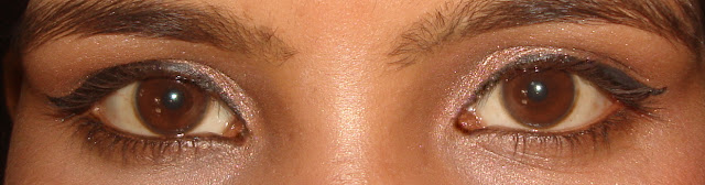 Festive Eye Makeup for girls, Pink & gold eye makeup for Indian girls, easy eye makeup, Indian beauty blogger, Chamber of Beauty