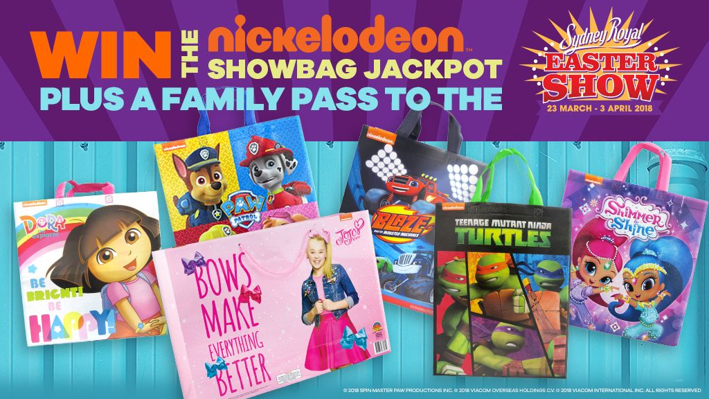 Nickalive your favourite nickelodeon nick jr stars are dont miss all the fun at the 2018 sydney royal easter show taking place at the homebush bay sydney showground between friday 23rd march tuesday 3rd negle Images