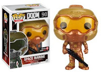 Funko Pop! Space Marine Gold