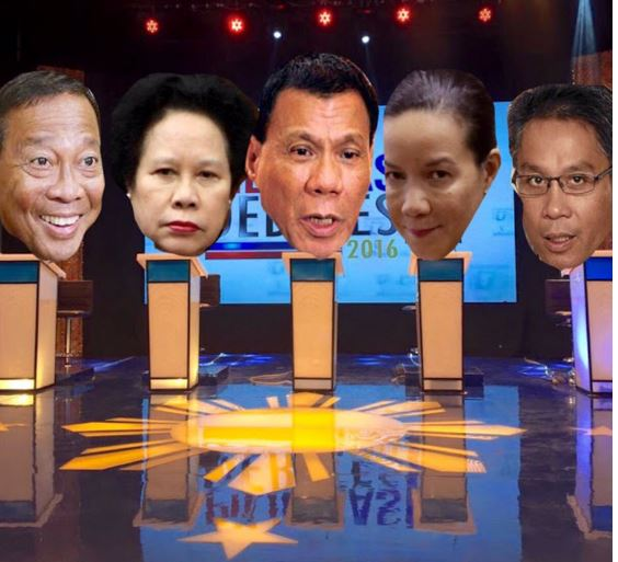 Pilipinas Debates 2016 now up in GMA-7's 360-degree video