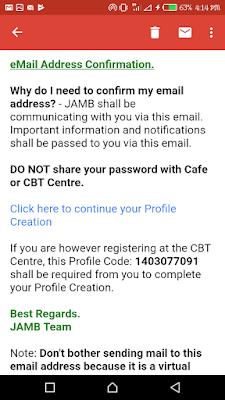 Jamb profile