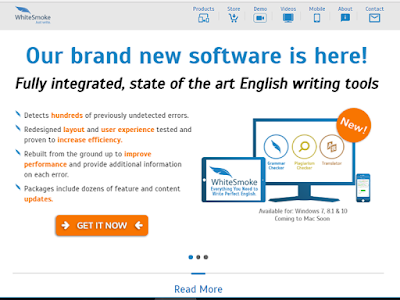 WhiteSmoke offers fully integrated, state of the art English writing tool