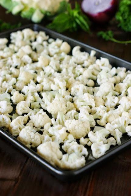 Roasting Cauliflower