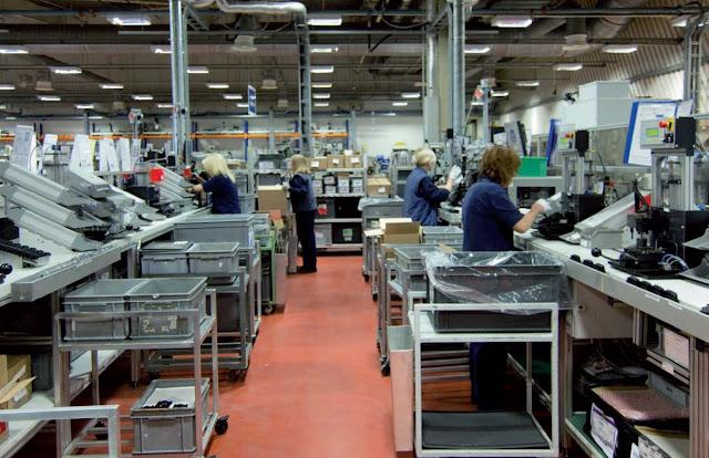 Crece el sector manufacturero sumando empresas en Madrid