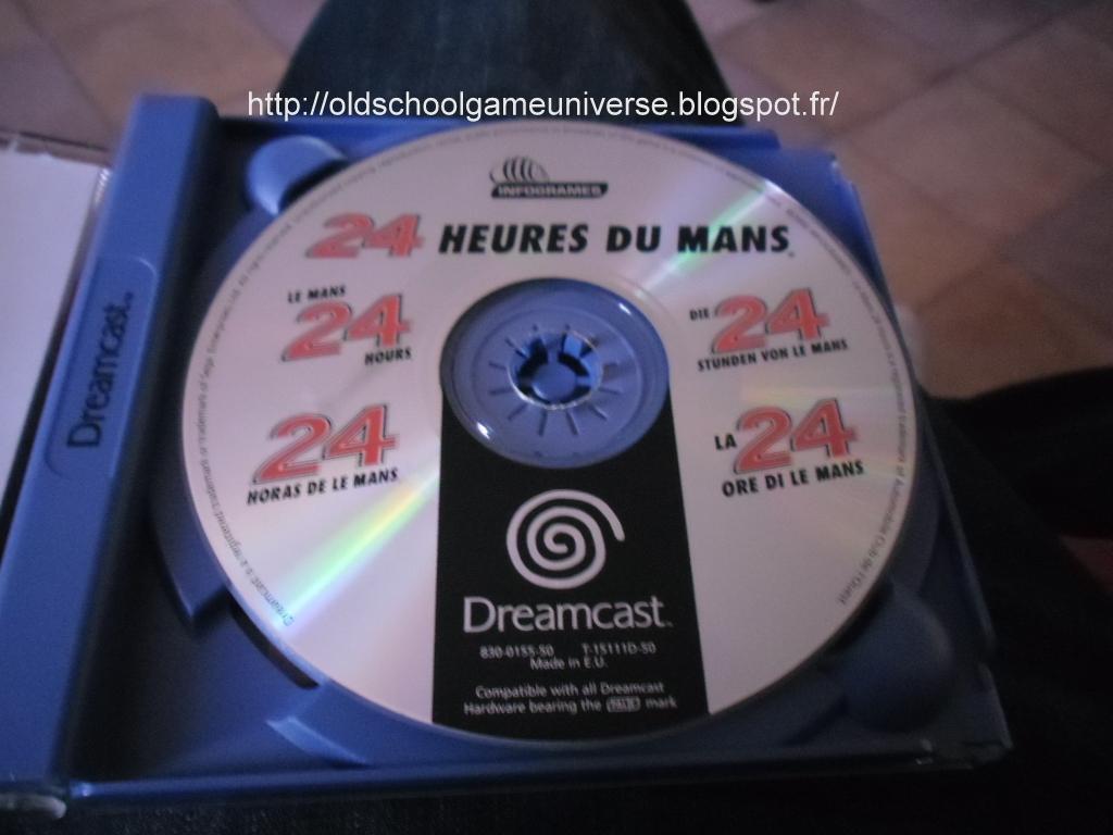 Old School Game Universe: 24 heures du Mans Sega Dreamcast