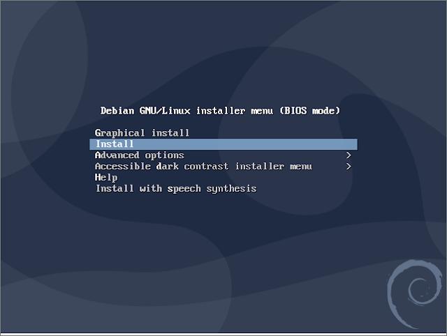 Instalasi Debian - Install