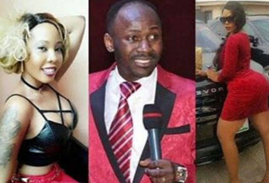 Apostle Suleman's Name Has Been Removed As Owner Of Daniella Okeke's Benz