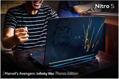 acer marvel avengers nitro 5