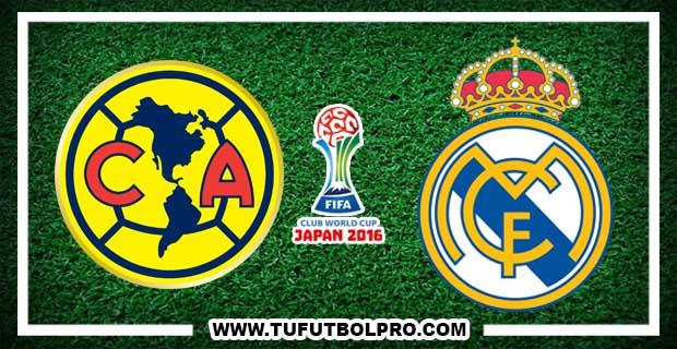 Ver América vs Real Madrid EN VIVO Por Internet Hoy 15 de Diciembre 2016