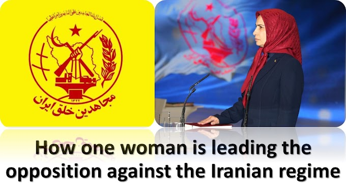 How one woman is leading the opposition against the Iranian regime