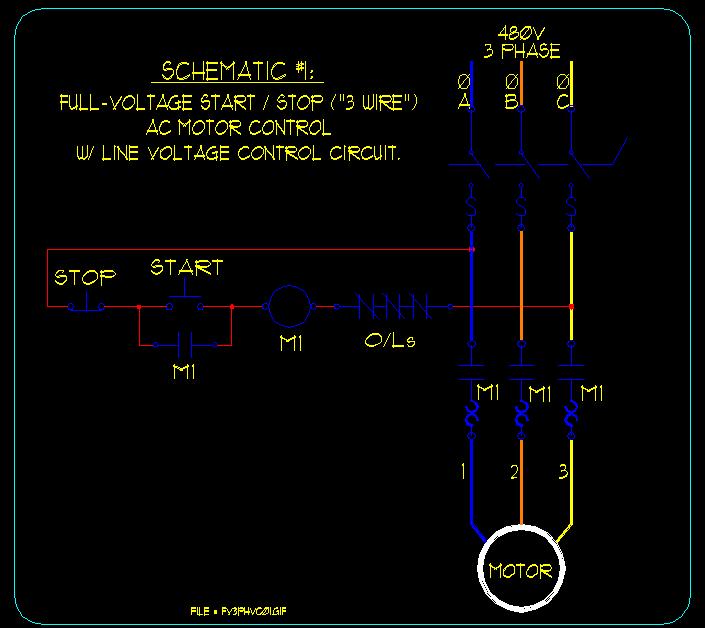 Wiring Diagram Schematic Star Delta Starter Control Circuit Diagram