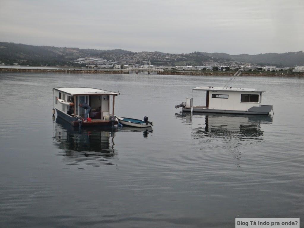 Passeio de barco pela lagoa de Knysna