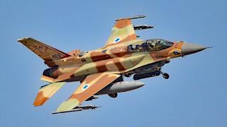 Jet Tempur F-16 Israel