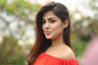 Rhea Chakraborty in Red Crop Top and Denim Shorts Spicy Pics ~  Exclusive 292.JPG